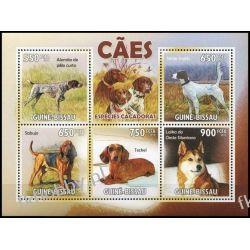 Gwinea Bissau 2010 Mi ark 4725-29 ** Pies Psy Fauna
