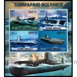 Gwinea Bissau 2012 Mi ark 5972-75 ** Okręt Podwodny