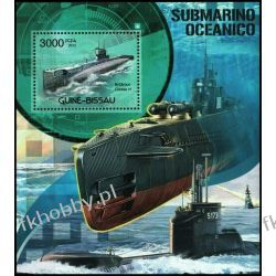 Gwinea Bissau 2012 Mi BL 1057 ** Okręt Podwodny