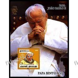 Gwinea Bissau 2005 Mi BL 504 ** Jan Paweł II Papież Złoto