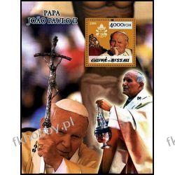 Gwinea Bissau 2005 Mi BL 499 ** Jan Paweł II Papież Złoto