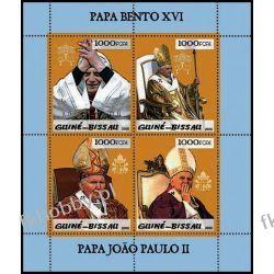 Gwinea Bissau 2005 ark 3004-07 ** Jan Paweł II Papież Złoto