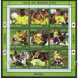 Gwinea Bissau 2001 ark 1361-69 ** Piłka Nożna Sport Sport