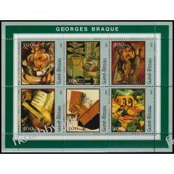 Gwinea Bissau 2001 ark 1600-05 ** George Braque Malarstwo