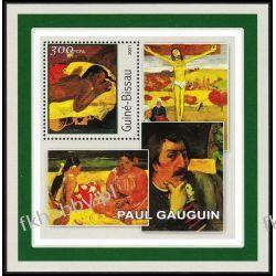 Gwinea Bissau 2001 BL 344 ** Paul Gauguin Malarstwo