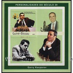 Gwinea Bissau 2001 Mi 1611 BL ** Szachy Garry Kasparov