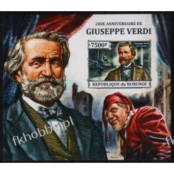 Burundi 2013 Mi BL 376 B ** Giuseppe Verdi Muzyka Pozostałe