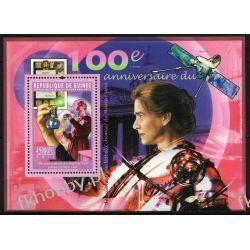 Gwinea 2011 BL 1965 ** Maria Skłodowska Curie Nobel