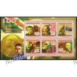 Gwinea 2011 ark 8453-58 ** Maria Skłodowska Curie Nobel Kolejnictwo
