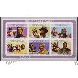 Gwinea Bissau 2008 ark 3979-84 ** Muzyka Afryki Pozostałe