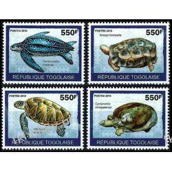 Togo 2010 ark 3424-27 * Żółwie Zwierzęta Fauna