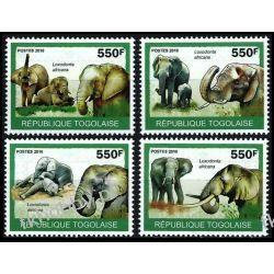 Togo 2010 ark 3479-82 * Słonie Zwierzęta Fauna