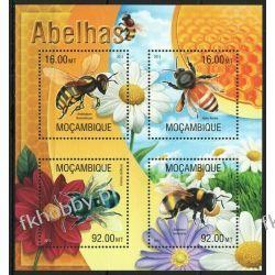 Mozambik 2013 Mi ark 6652-55 ** Pszczoły Owady Fauna
