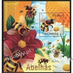 Mozambik 2013 Mi BL 770 ** Pszczoły Owady Fauna