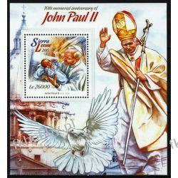 Sierra Leone 2015 BL 772 ** Jan Paweł II Papież Sport