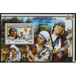 Niger 2015 Mi BL 416 ** Jan Paweł II Papież Matka Teresa Kolekcje