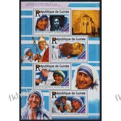 Gwinea 2015 ark 11098-01 ** Jan Paweł II Matka Teresa Kolekcje