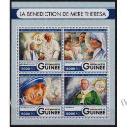 Gwinea 2016 ark 12131-34 ** Jan Paweł II Matka Teresa Kolekcje