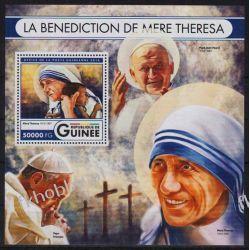Gwinea 2016 BL 2722 ** Jan Paweł II Matka Teresa Nobel Kolekcje