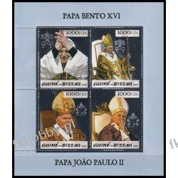 Gwinea Bissau 2005 ark 2996-99 ** Jan Paweł II Papież Srebro Kolekcje