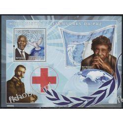 Gwinea Bissau 2008 Mi BL 674 ** Kofi Annan Nobel Mann Pozostałe