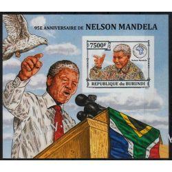 Burundi 2013 Mi BL 379B ** Nelson Mandela Nobel Pozostałe