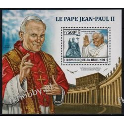 Burundi 2013 Mi BL 371 ** Jan Paweł II Papież Sport