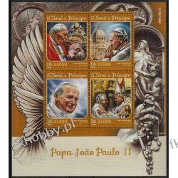 Wyspy Św Tomasza 2016 ark 6686-89 ** Jan Paweł II Papież Pozostałe
