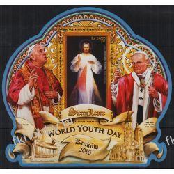 Sierra Leone 2016 BL 975 ** Jan Paweł II Papież Franciszek Pozostałe