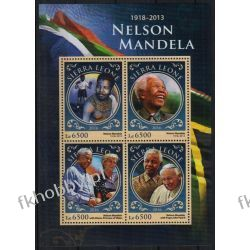 Sierra Leone 2016 ark 7698-01 ** Jan Paweł II Nelson Mandela Sport