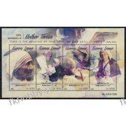 Sierra Leone 2015 ark 6632-35 ** Jan Paweł II Matka Teresa Religia i Papież