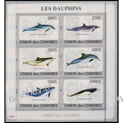 Komory 2009 Mi ark 2198-03 ** Delfiny Delfin Pozostałe