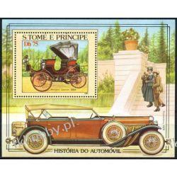 Wyspy Św Tomasza 1983 BL 137 ** Samochód Auto Kolekcje