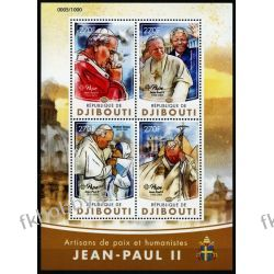 Dżibuti 2016 ark 964-67 ** Jan Paweł II Matka Teresa Kolekcje