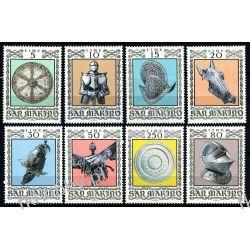 San Marino 1974 Mi 1059-66 ** Czesław Słania Sztuka Malarstwo
