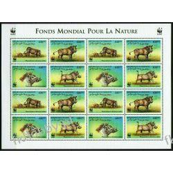 Dżibuti 2000 Mi ark 678-81 Zwierzęta WWF Dzik