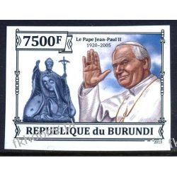 Burundi 2013 Mi 3237 B ** Jan Paweł II Papież Kolekcje
