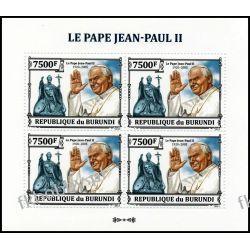 Burundi 2013 ark 3237 ** Jan Paweł II Papież 4 Kolekcje
