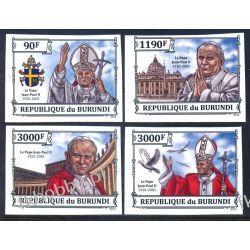 Burundi 2013 Mi 3233-36 B ** Jan Paweł II Papież Religia i Papież