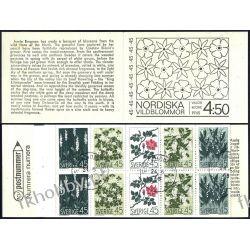 Szwecja 1968 Mi MH 18 # Kwiaty Czesław Słania Pozostałe