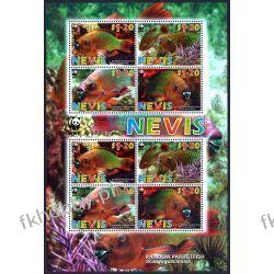 Nevis 2007 Mi ark 2208-11 ** WWF Ryby Ryby