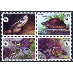 Laos 2004 Mi 1927-30 ** WWF Zwierzęta Żułwie Gady i Płazy