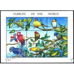Saint Vincent 1995 Mi ark 3053-61 ** Papugi Ptaki
