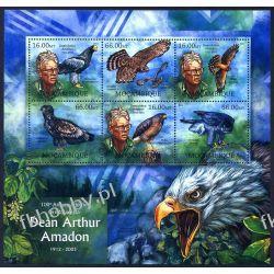 Mozambik 2012 ark 5944-49 ** Ptaki Dean Arthur Amadon Harcerstwo i Skauting