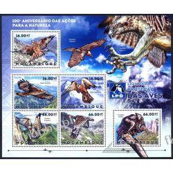 Mozambik 2012 ark 6104-09 ** Ptaki Orzeł Sport