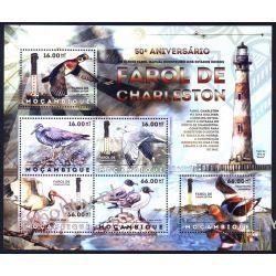 Mozambik 2012 ark 6167-72 ** Ptaki Latarnie Morskie Sport