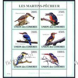 Komory 2009 Mi ark 2184-89 ** Ptaki Kolekcje