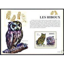 Komory 2009 Mi BL 485 ** Ptaki Sowa Sowy Kolekcje