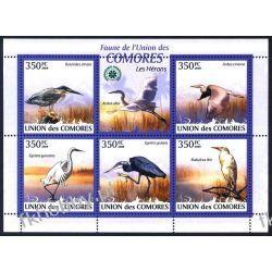 Komory 2009 Mi ark 2377-81 ** Ptaki Kolekcje