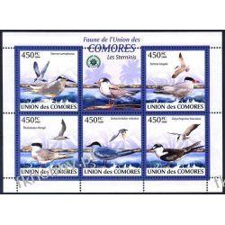 Komory 2009 Mi ark 2397-01 ** Ptaki Mewa Kolekcje